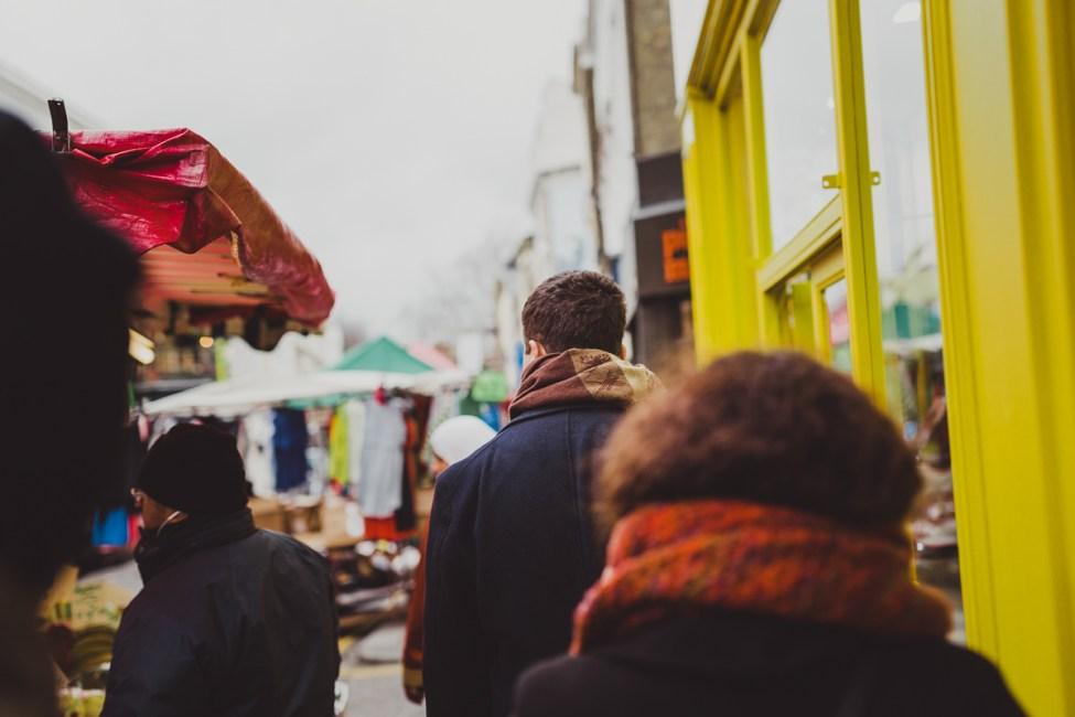 En fika med George Orwell och Hugh Grant på Portobello Road