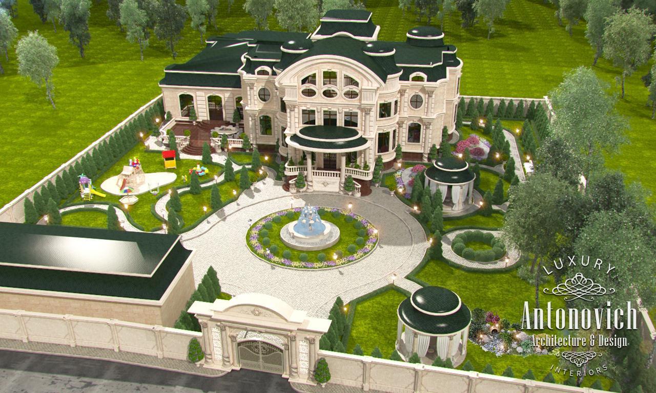 Professional luxury villa exterior designs in qatar - Professional House Project In Qatar By Luxury Antonovich Design Fancy Landscape Garden Design Dubai 21 Download