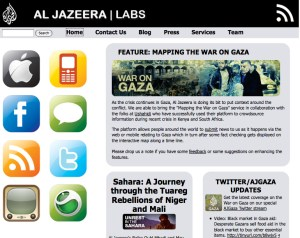Image: Al Jazeera Labs website