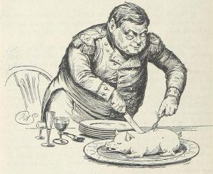 eating piggy