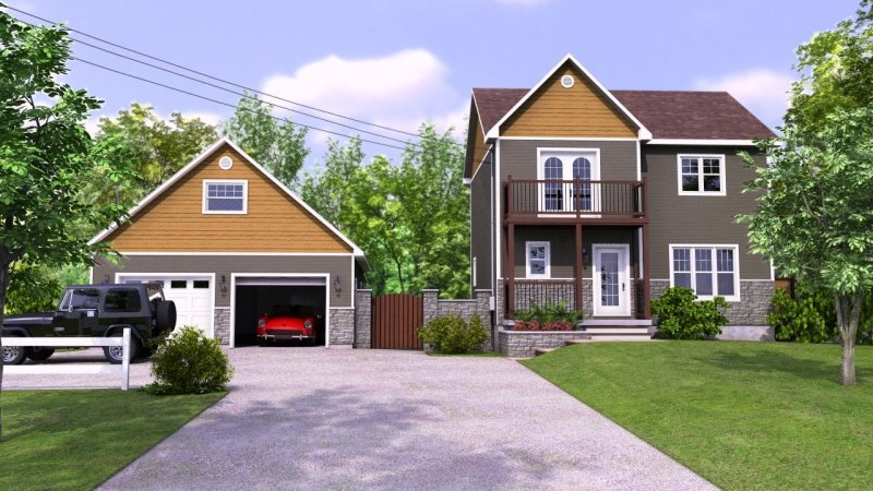 Plan De Maison 3D at Sherbrooke - AnuGoca - Plan De Maison En 3d