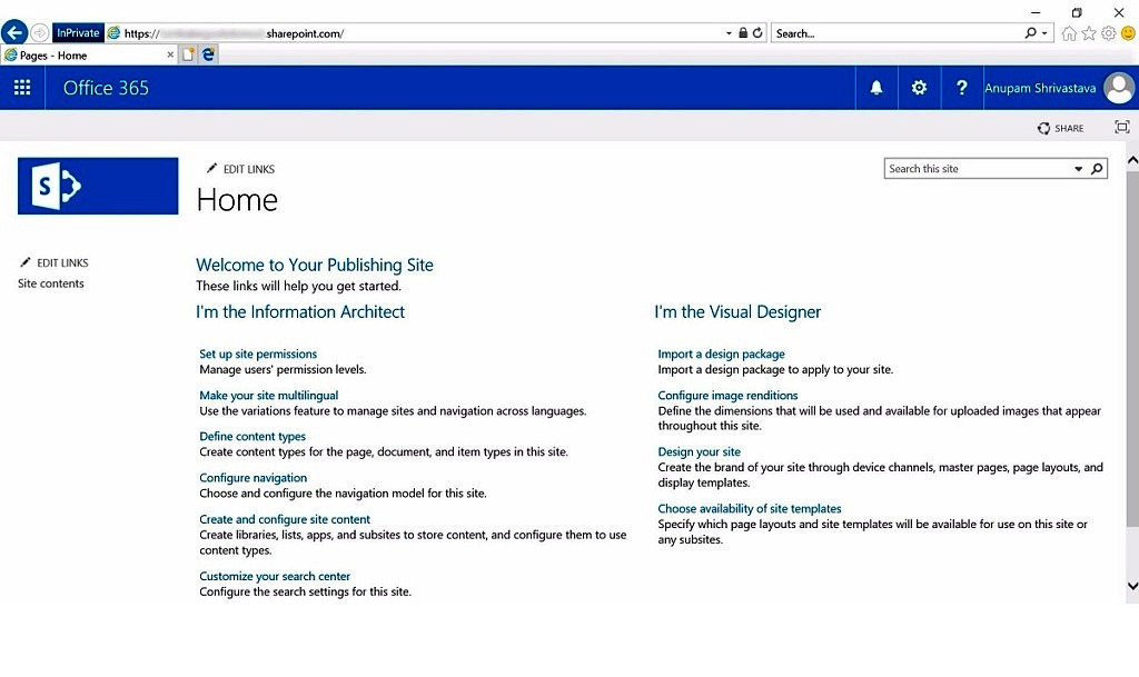 Creating Publishing Site at SharePoint Online Root - Cloud Decoded