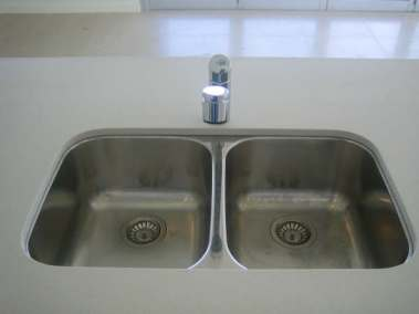 Plumbers Sydney: ANU Plumbing Sydney - Previous work kitchen sink