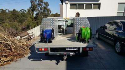 Plumbers Sydney: ANU Plumbing Sydney - Previous work Van 3
