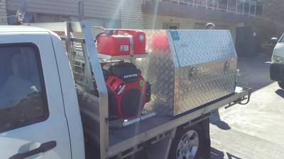 Plumbers Sydney: ANU Plumbing Sydney - Previous work Van 4