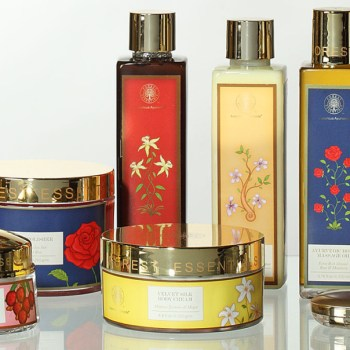 Repackaged Ayurvedic beauty products for a luxury market.