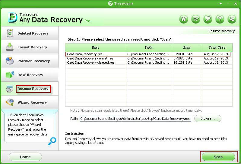 Data Recovery Professional Guide - How to Resume and Recover