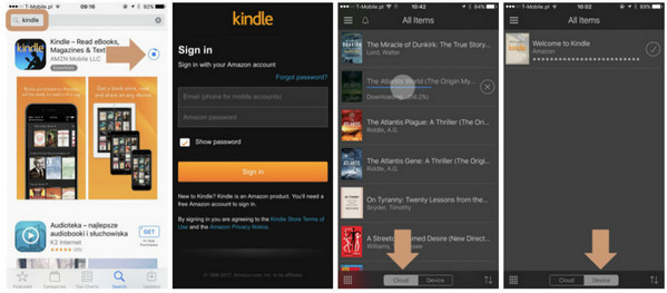 Two Ways to Read Kindle Books on iPad/iPhone Any eBook Converter
