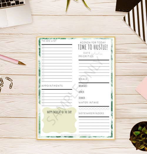 Printable Planners for Medical Students and More! ANYTHINGRAD