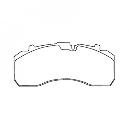Bendix K109249 Air Disc Brake Pad Kit, Fits Bendix SB-7 and SN-7