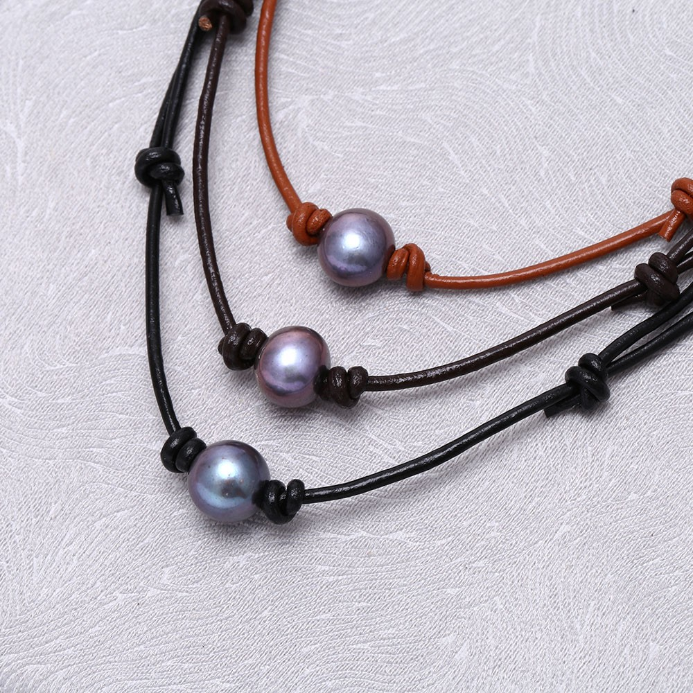 Aobei Pearl Handmade Pearl Choker Necklace Made Of