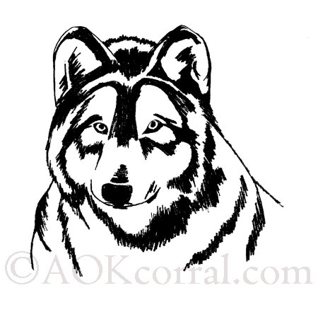 Printable Wolf Patterns wwwpicturesso