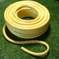 19mm X 50 Metre Yellow Garden Hose Pipe 50m Reinforced