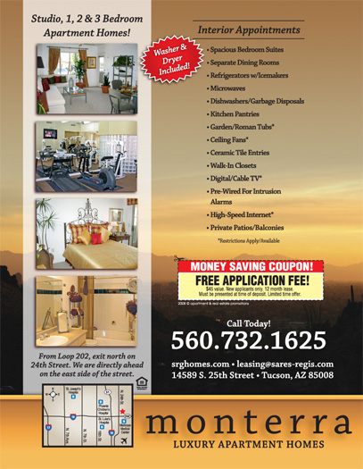 Apartment Flyer Samples - Sample Marketing Brochure