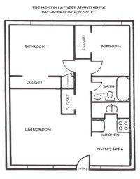 conan patenaude: Floor Plan 2 bedroom house