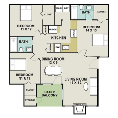 1-signature-point-dr--floor-plan-1180-sqft