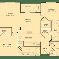 1-waterway-ave-floor-plan-1218-sqft
