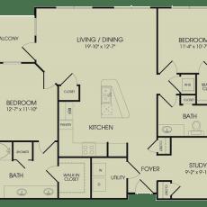 1-waterway-ave-floor-plan-1254-sqft