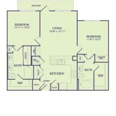 25222-northwest-fwy-floor-plan-1101-sqft