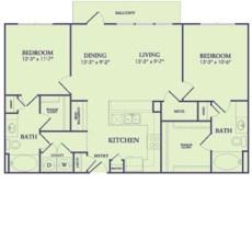 25222-northwest-fwy-floor-plan-1106-sqft