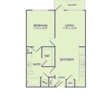 25222-northwest-fwy-floor-plan-695-sqft