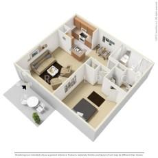 2750-wallingford-floor-plan-one-bedroom-634-sqft-1