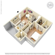 501-davis-league-floor-plan-682-1-sqft