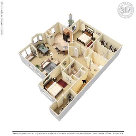 9844 Cypresswood Dr Floor Plan 1448 Sqft