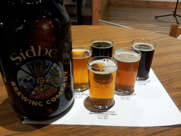 Sidhe Brewing Beers