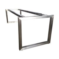 Modern Stainless Steel Table Base Frame | Apex