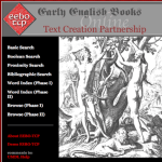Early English Books Online Bodleian Libraries