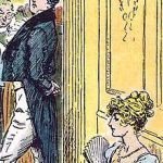 Mr. Darcy and Elizabeth Bennet (1895) by C.E. Brock Wikimedia Commons