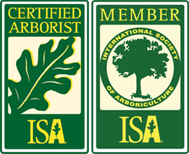 logo's for certified arborist and member for Apical Tree Care West Vancouver BC