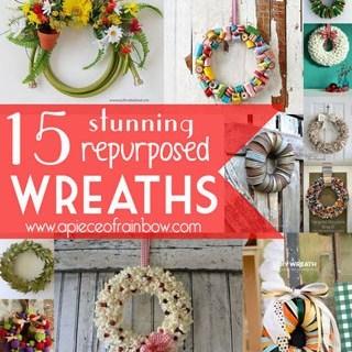 Make wreaths - apieceofrainbow.com