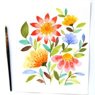 watercolor-flowers-apieceofrainbow