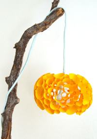 Coral Inspired DIY Paper Lamp {in 20 Minutes!} - A Piece ...