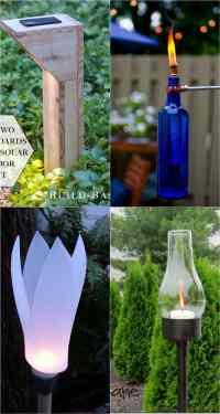 28 Stunning DIY Outdoor Lighting Ideas ( & So Easy ...