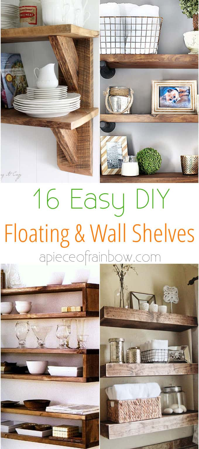 Fetching Diy Floating Shelves Wall Shelves A Piece Easy Tutorials On Building Floating Shelves Floating Shelves Wall Anchors Floating Wall Shelves Canada Wall Shelvesfor Your Check Easy interior Floating Shelves Wall