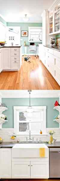 25 Gorgeous Kitchen Cabinet Colors & Paint Color Combos