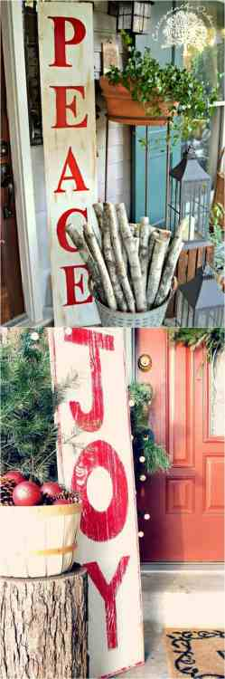 Peachy Painted Wood Signs Are So Ing Small Diynetwork Fynes Designs Cottage Oaks Netz Family Outdoor Ideas Tutorials