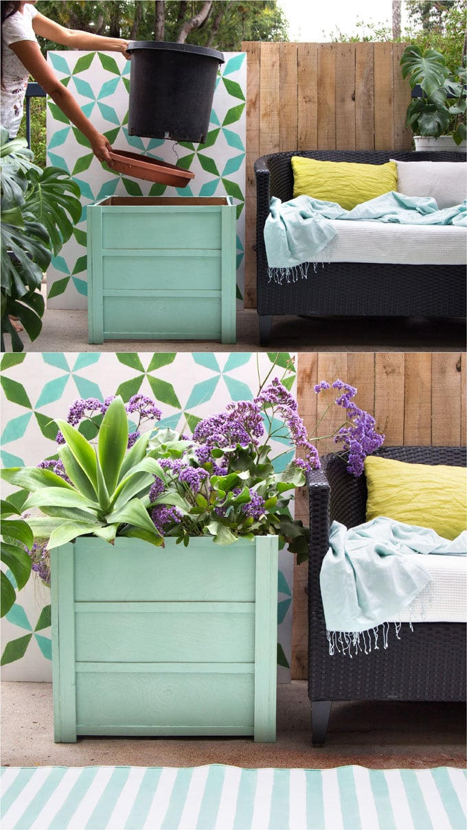 Make Beautiful Wood Planter Boxes 10 Easy Diy A