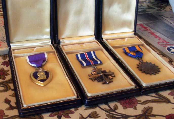 Joe Noyes War Medals