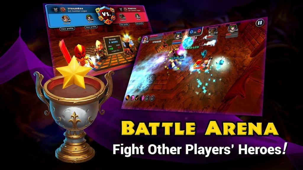 download game dungeon quest apk mod
