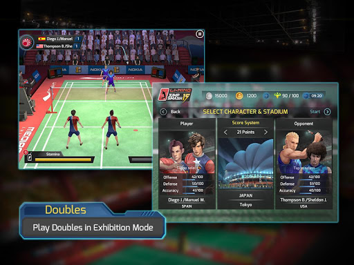 download game badminton jump smash mod apk