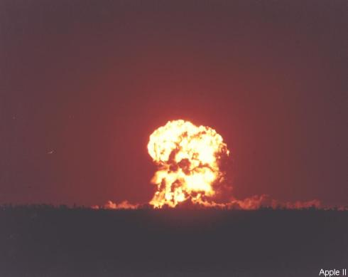 Apple-2 nuclear test.