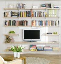 Elfa Living Room Shelving - Best Selling Solution - Home ...