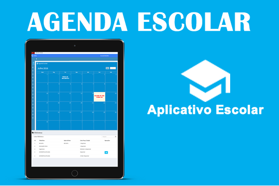 Agenda escolar online - Aplicativo Escolar