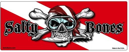 Fish Tank 3d Wallpaper Dive Flag With Skull Knife Amp Flag Bandana Sticker 4 3