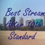 Select best stream after GSEB 2014 10th standard result