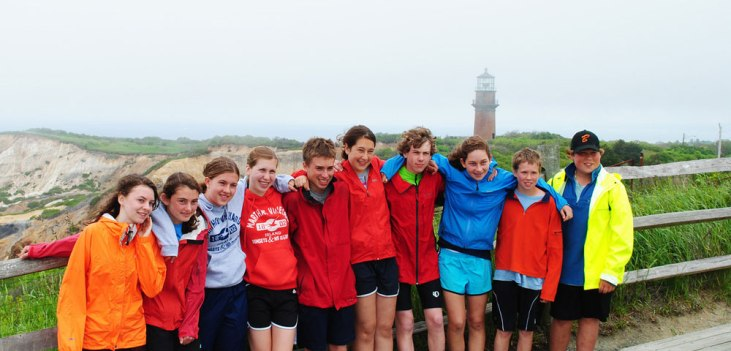 Apogee Adventures teen bike trip in Cape Cod